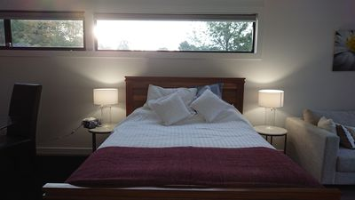 Photo for Quality new accommodation with late checkout