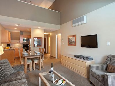Photo for Ski-in/Ski-out 2 Bedroom Condo with Communal Pool and Hot Tub