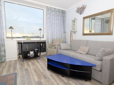Photo for App. Nehlsen 61 W  Location: The apartment house is located on the pedestrian zone Wilhelmstraße, which merges into Friedrichstraße. The beach is about 500 m. From the apartment, located in the 6. Floor is located, overlooking the city towards the sea.
