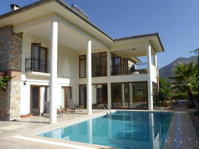 Photo for Spacious detached villa with outdoor yoga area, private pool and garden