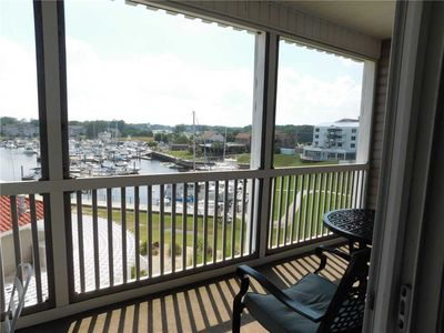 Photo for Harbor and Waterway Views From the Balcony in this Spacious Little River condo