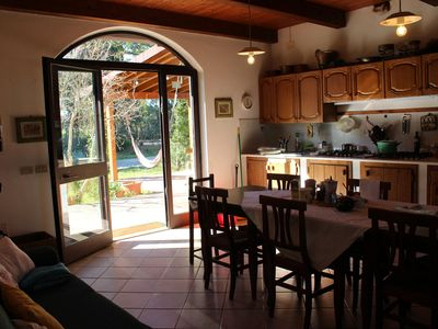 Photo for Holiday farmhouse, ideal for groups and families, in the countryside 15 km from the sea