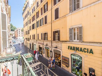 Photo for Apartment Spanish Steps Top Location in Roma: Centro Storico - 7 persons, 4 bedrooms