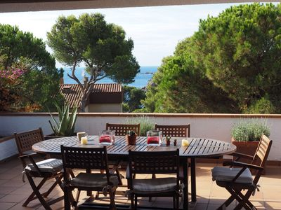 Photo for Rent Duplex in Calella de Palafrugell, 5 minutes from the beach, sleeps 6
