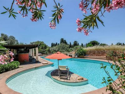 Photo for Casa Rustico, large pool, 350m from the beach, by the river.