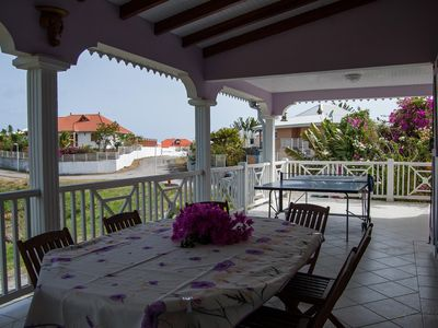 Photo for The quiet Villa Mauve has 200 meters of 3 beautiful beaches