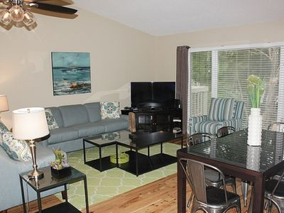 Photo for Lagoon Villa 34/ 2 BR Resort View Condo w/ Wild Dunes Amenities!