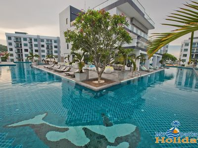 Photo for 1 bedroom with balcony and pool view