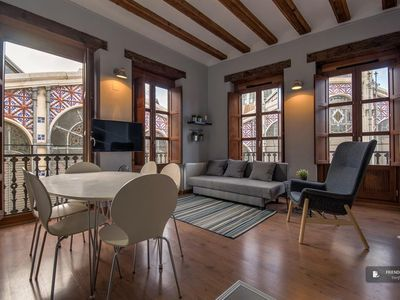 Photo for Friendly Rentals The Mercado Central apartment in Valencia