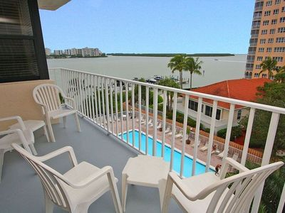 Photo for Great Water Views, Short Walk To The Beach - Lovers Key Beach Club 405