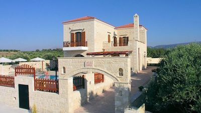 Photo for Villa in Astri with sea view and private pool