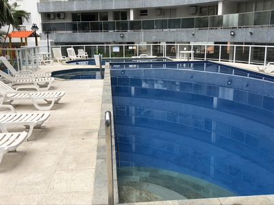 Photo for High standard apt 200mts and sea view and complete recreation area