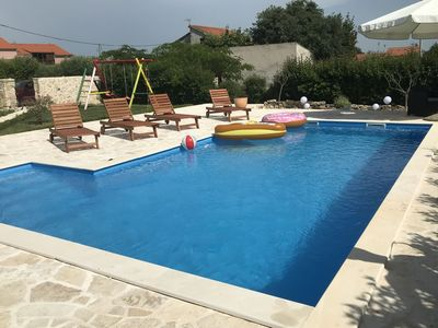 Photo for Charming Holiday Home in Murvica Pool