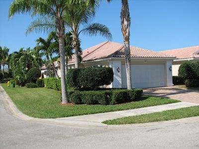 Photo for Beautiful single story  2 BR 2 Bath Villa in upscale gated resort in Naples, FL