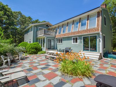 Photo for #328: Beautiful, private & spacious, great location, large outdoor stone patio!