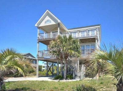 Photo for Extremely Spacious-Beautiful Ocean Views-5 Bdrm/3 Bath, 2nd Row Home-Sleeps10