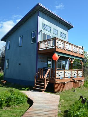 Photo for Two Bedroom Two Bath Fully Furnished Cottage in Old Town Homer Alaska