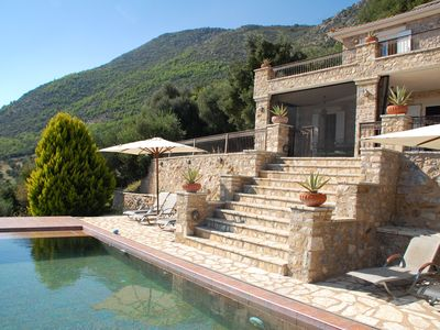 Photo for Luxurious Old Stone House with accommodation for 10 people and pool