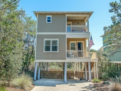 Photo for All Beds have full baths~Private Pool/Hot Tub~Outdoor Shower ~4 Bikes~5*Location