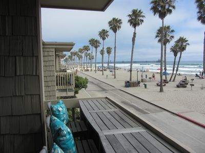 Photo for APRIL/May infill rate bargains! 2nd fl cottage w/amazing view/beach/ocean/pier
