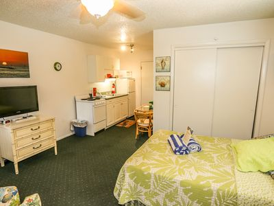 Photo for The Shell Shack is a studio apartment within a four plex at Iguana Mama's Beach House with the amenities of home