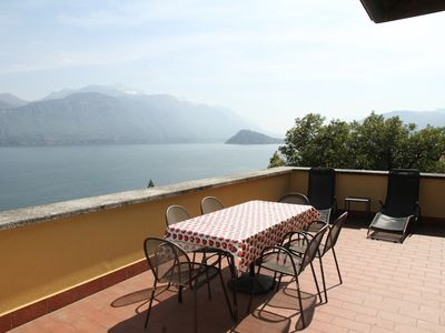 Photo for Large apartment in a residential area overlooking the lake