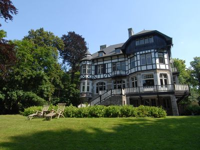 Photo for Beautiful castle house in Spa, authenticly decorated and with spacious garden