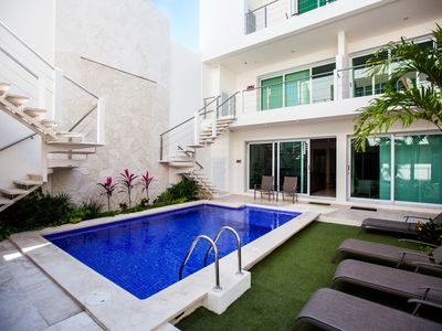 Photo for Downtown Brand new luxury 1 bedroom condo in the heart of Isla Mujeres!