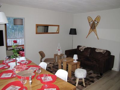 Photo for Cozy apartment 6 pers. Ski on the feet. Fully renovated. COURCHEVEL 1650