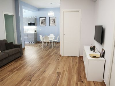 Photo for Deluxe two-room apartment Caserta