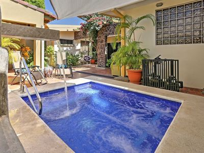 Photo for Affordable 5 star Villa - Steps from the Beach - Breakfast included