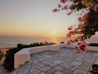 Photo for Coucou Vaya Andros - Sea & Sunset view