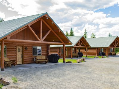 Photo for Two Bedroom Private Cabin Bonners Ferry