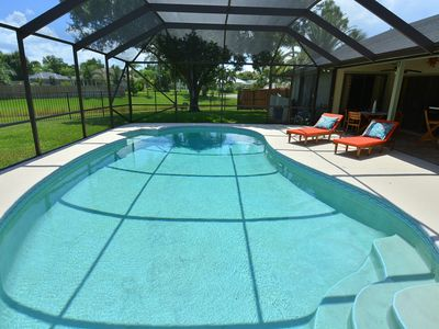 Photo for Beautiful, heated pool home close to Stuart Beach and Jensen Beach......