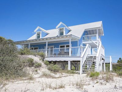 Photo for Gulf Front  3 Bedroom ~ Great Location ~ Dune Refuge Beach House ~ Sleeps 10!