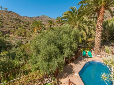 Photo for Holiday cottage with private pool in San Bartolome