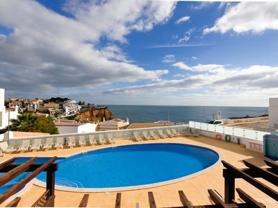Photo for Beautiful townhouse with amazing sea views and roof terrace