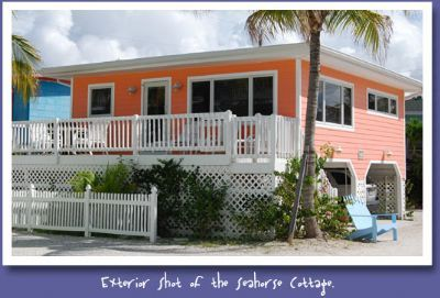 Photo for The Seahorse Cottage at the Cottages of Paradise Point - Gulfside 2bd/2ba North End
