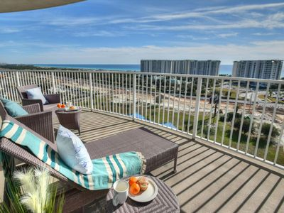 Photo for Spring Specials!~Panoramic Views from Penthouse Unit~HEATED Pool~Free Shuttle~