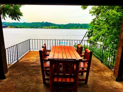 Photo for Unique St Croix River Rambler with private dock and river front