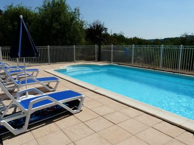 Photo for cottage with heated pool for 5 people, covered terrace, free wifi