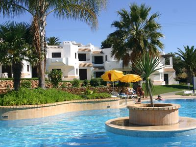 Photo for Prestigious apartment at Clube Albufeira Conditioning