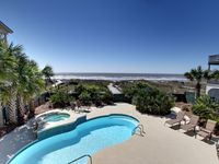 Well appointed large beach front home