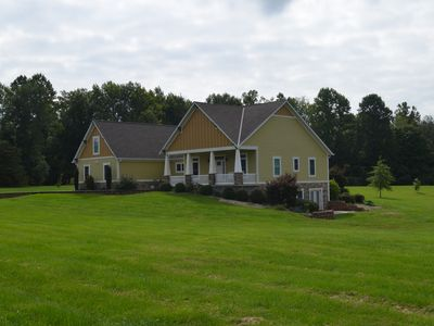 Photo for Quiet country estate on six acres!