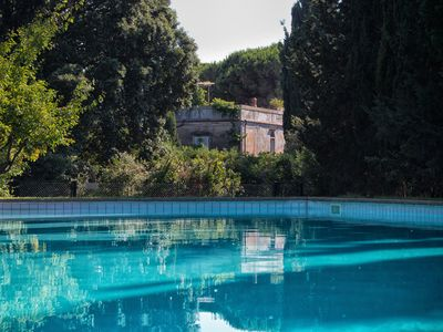 Photo for Historic vacation fattoria with pool, built around 1800