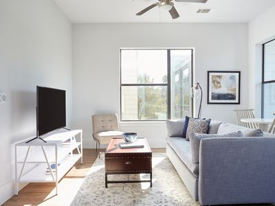 Photo for Sonder | The Hampstead | Pleasant 2BR + Balcony