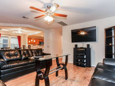 Photo for SPACIOUS HOME SITUATED BETWEEN DOWNTOWN AND THE AIRPORT, PERFECT FOR LARGE GROUP