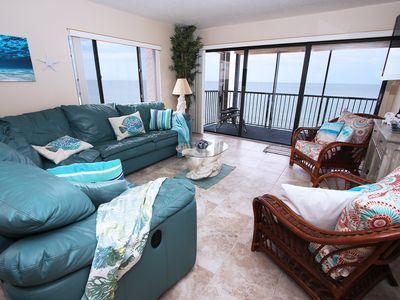 Photo for Direct Beachfront Corner Unit 2 Bed/2 Bath