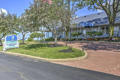 The unit is situated within the desirable Clinton Reef Club community.