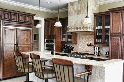 This gourmet kitchen is equipped with everything you will need